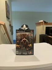 God Of War Sony PlayStation 2 . Two Disc Set . Complete With Manuel. Tested!!