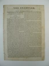 More details for the examiner - august 16th 1815 - bonaparte's proclomation