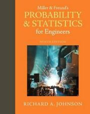 Miller & Freund's Probability and Statistics for Engineers (9th Edition)
