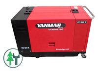 DIESEL Stromerzeuger Generator Yanmar TF160S Notstrom Aggregat
