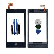 Black Digitizer LCD Touch Screen Lens Glass Frame For Nokia Lumia 520 + Tools