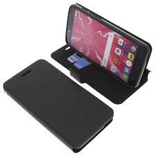 Funda para Alcatel Pixi 4 Plus Power Book Style FUNDA PROTECTORA Gadget Negro