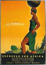 48622  MAGAZINE ADVERT - Pubblicita'  da rivista : TRANSATLANTIC SHIP Porcheddu