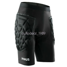 New Janus Men High Density Foam Football Soccer skating Shorts Protective Gear
