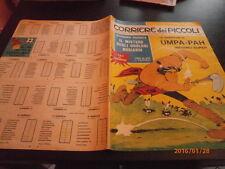 CORRIERE PICCOLI 37/1967 CALENDARIO SERIE A B