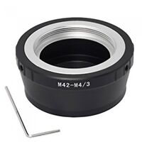 M42-M4/3 M42 screw thread mount lens to Micro Four Thirds M4/3 camera adapter