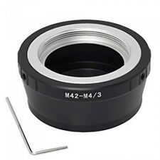 M42-M4/3 M42 screw thread mount lens to Micro Four Thirds M4/3 camera adapter