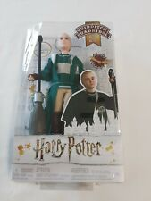 """Harry Potter Quidditch """"Draco Malfoy"""" Doll Figure Broomstick Brand New In Box!"""