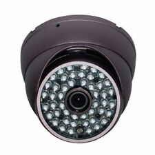 "Sunvision 480TVL Metal Outdoor Dome Camera 1/3"" Sony 48 LEDs Night Vision (36c)"