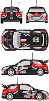 1/43 Decal Citroen DS3 WRC #52 Rally de France 2012