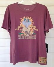 ☀️NWT MEN'S 3XL XXXL True Religion TR SKULL Crew T-Shirt Distressed BUDDHA $79