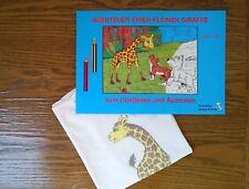 Kinder Shirt (Gr. 116) mit dazu passendem Buch zum Ausmalen und Vorlesen