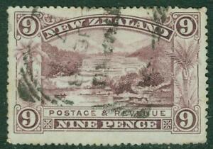 New Zealand. 1898. Pictorial. 9d, U.
