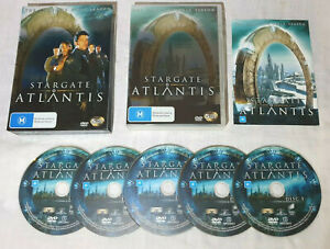 Stargate: Atlantis (2004) The Complete 1st Season. DVD Boxed Set. 5 Discs. PAL