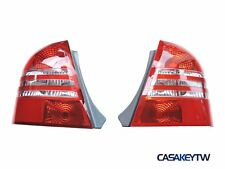 NEW Protege BJ MK8 98 - 04 Sedan 4D Clear Tail Rear Light Red/Clear V3 for MAZDA