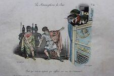 GRANDVILLE Pour qui sont ces serpents pl.46 Métamorphoses RARE 1e ed. 1828 BULLA