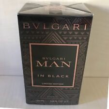 Bulgari Man In Black Essence Profumo Uomo 100 ml Limited Edition Novità Edp