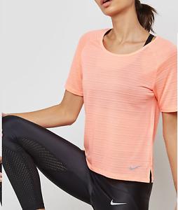 New Nike Women T-shirt / BREATHE short sleeve TOP/ dri-fit /top/run/gym/ £29.95