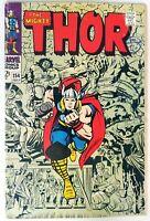 Thor #154 Silver Age Marvel Comics VG