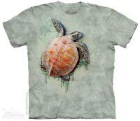 Sea Turtle Climb T-Shirt by The Mountain. Aquatic Ocean Tee S-5XL NEW