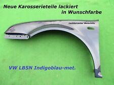 VW Golf 4 KOTFLÜGEL LINKS/RECHTS LACKIERT VW INDIGOBLAU LB5N