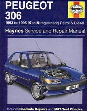 Peugeot 306 1993-1995 - Workshop Manual Haynes - Digital Download Link