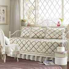 Daybed Covers Sets Quilted 5 Piece Ruffled Vintage Style Shabby Chic Floral