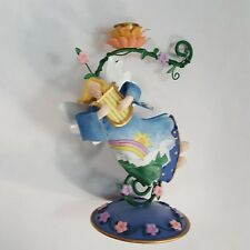 Avon Country Angel Candle Holder Country Chic Charm Musical Harp