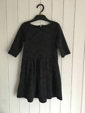 Girls dress size 5-6 years Blue 3/4 sleeve F&F