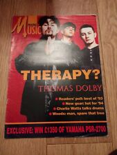 MAKING MUSIC MAGAZINE ISSUE 96 MARCH 1994 ~ THOMAS FOLBY / CHARLIE WATTS & MORE