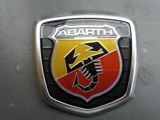 Original Fiat 500 Abarth Emblem Heckemblem Firmenzeichen Logo hinten