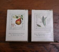 Pair of ASQUITH & SOMERSET Lily of the Valley, English Pear Bar Soaps 5.3oz
