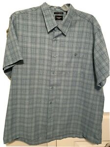 Men's Haggar Short Sleeve Shirt XXL