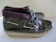 Sperry Top-Sider Purple Chukka Boots Womens Size 8 Chuck Taylor Lookalike