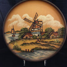 1978 Pfaff Carved Wood Collector Plate Heritage Series #919 of 2500 Handcrafted