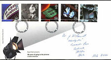 GB FDC 1996, 100 Years Of Going To The Pictures, Cinema Stevenage FDI #C37283