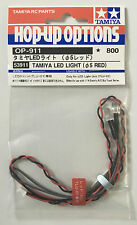 Tamiya 53911 Luz LED Rojo (5mm) (TLU-01) nuevo en paquete