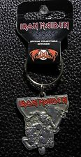 IRON MAIDEN - OFFICIAL KEYCHAIN ( THE TROOPER  ) METAL KEY RING