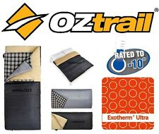 OZtrail Drover (-10cel To +10cel) Double Size Two Person Duo Sleeping Bag