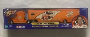 Winners Circle 2000 Tony Stewart Nascar Hauler 1/64 Home Depot DiCast Trailer