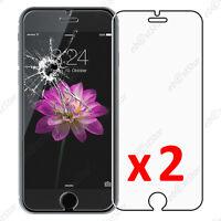 """x2 Film Protection écran Verre Trempé Vitre Anti Casse Apple iPhone 6 4,7"""""""
