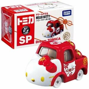 Takara Tomy Dream Tomica Die-cast car Sanrio SP Hello Kitty Apple Carry Red