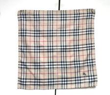 Burberry Bandana Pocket Square Mini Scarf Handkerchief Neckerchief Nova Check OB