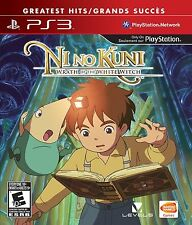 Ni No Kuni  Wrath of the White Witch PS3 Game New and Sealed