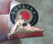 Early Butlin / Butlins Badge  -  Skegness 1950  -  maker W. Reeves  Birmingham