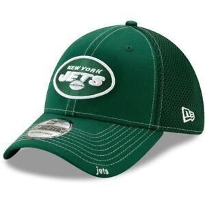 2021 New York Jets New Era 39THIRTY NFL Neo Mesh Back Stretch Flex Hat Cap Green