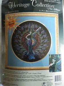 RARE Elsa Williams The Brightest Star counted cross stitch kit sealed