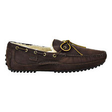 Polo Ralph Lauren Mens Wynding's Loafer's Dark Charcoal-Natural 803669653-001