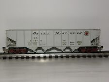 GREAT NORTHERN 71470  BRASS O SCALE  4 BAY HOPPER  2 Rail
