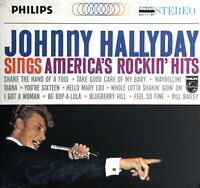 CD ALBUM DIGIPACK JOHNNY HALLYDAY SINGS AMERICA'S ROCKIN' HITS RARE COMME NEUF
